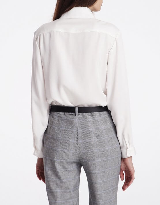 Рубашка с накладными карманами SHKO_18032003, фото 5 - в интеренет магазине KAPSULA