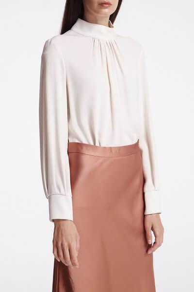 Блуза с воротником стойкой SHKO_18053001, фото 1 - в интеренет магазине KAPSULA