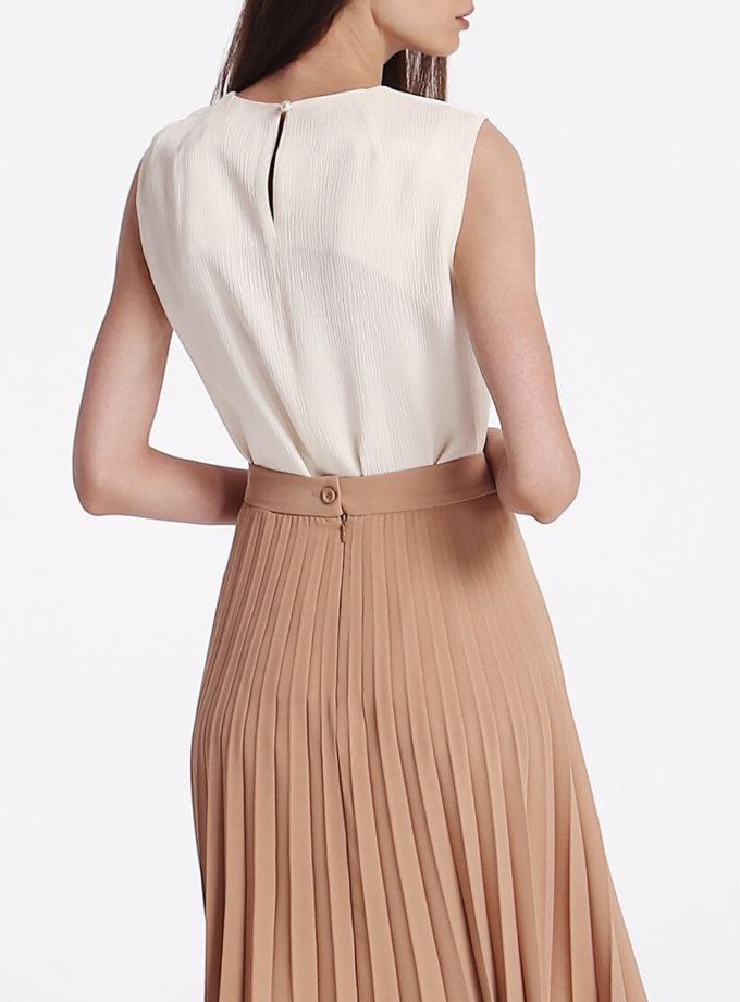 Легкая блуза с защипами SHKO_19008003, фото 1 - в интернет магазине KAPSULA