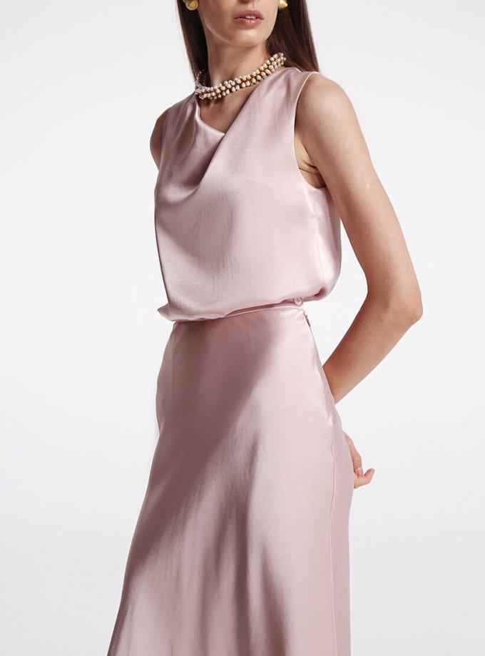 Блуза с асимметричным вырезом SHKO_19055001, фото 1 - в интернет магазине KAPSULA
