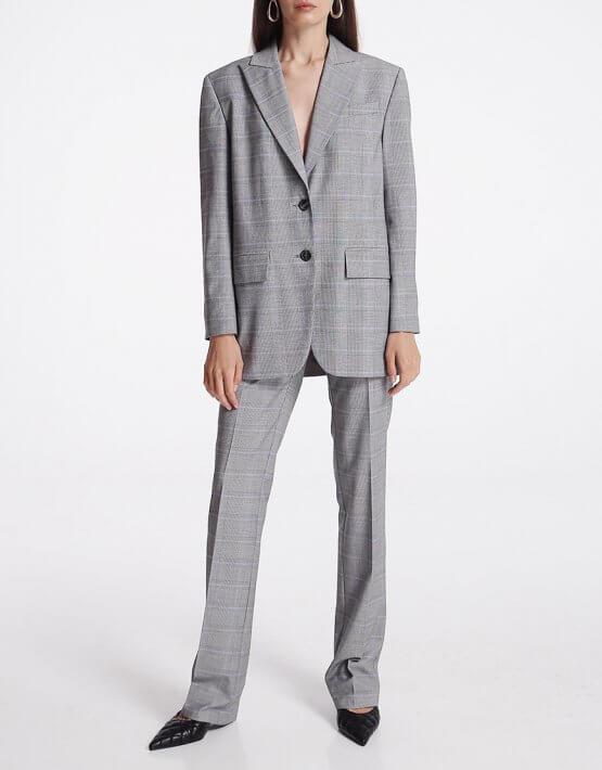 Прямые брюки со стрелками SHKO_19059001, фото 4 - в интеренет магазине KAPSULA