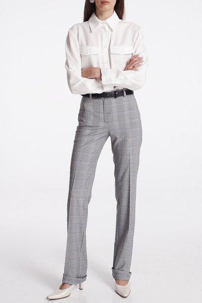 Прямые брюки со стрелками SHKO_19059001, фото 1 - в интеренет магазине KAPSULA