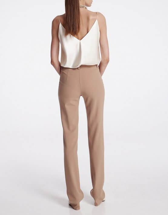 Прямые брюки из шерсти со стрелками SHKO_19059002, фото 5 - в интеренет магазине KAPSULA