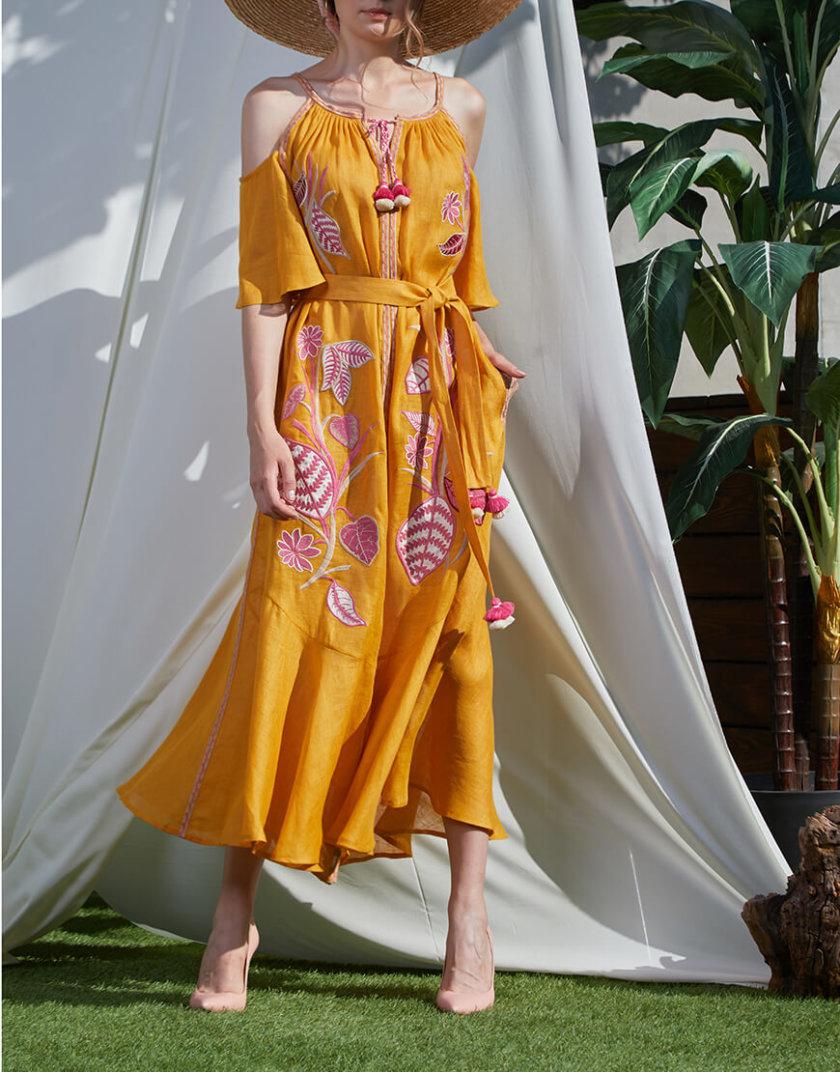 Сарафан Эдэм из льна круиз FOBERI_SS20024, фото 1 - в интернет магазине KAPSULA