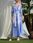 Платье из льна Эдэм круиз FOBERI_SS20029, фото 1 - в интеренет магазине KAPSULA