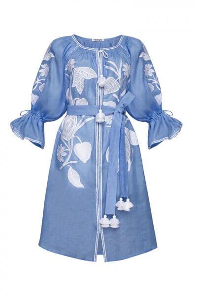 Платье Эдэм мини из льна FOBERI_SS20028, фото 1 - в интеренет магазине KAPSULA