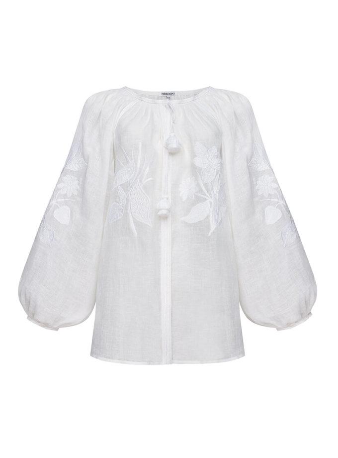 Блуза Эдэм из льна FOBERI_SS20030, фото 1 - в интеренет магазине KAPSULA