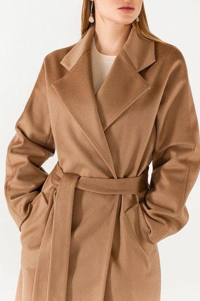 Пальто из кашемира с поясом WNDR_Fw1920_cshс_11_camel, фото 3 - в интеренет магазине KAPSULA