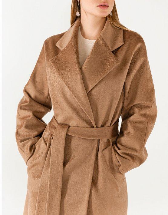 Пальто из кашемира с поясом WNDR_Fw1920_cshс_11_camel, фото 7 - в интеренет магазине KAPSULA