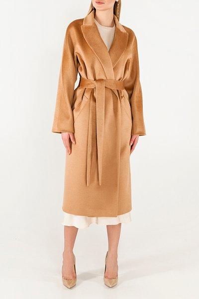 Пальто из кашемира с поясом WNDR_Fw1920_cshb_11_bronze, фото 1 - в интеренет магазине KAPSULA