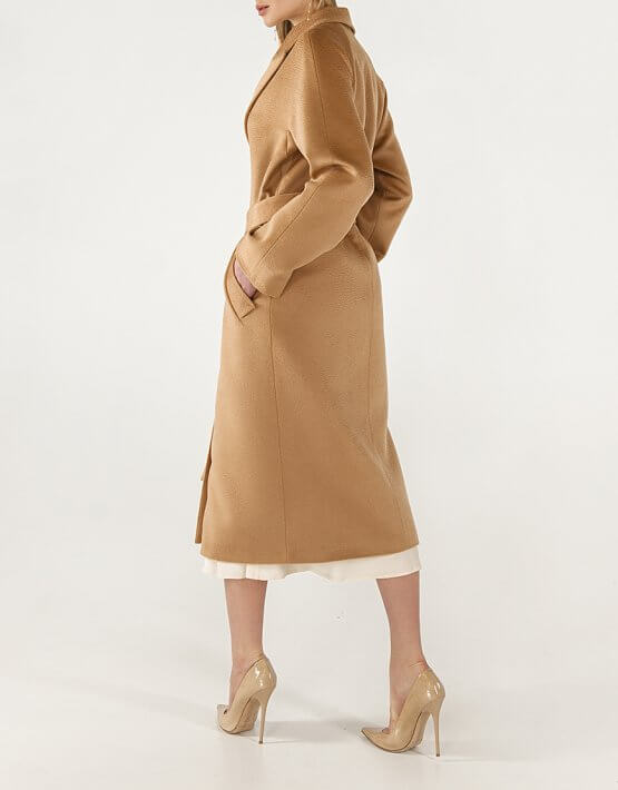 Пальто из кашемира с поясом WNDR_Fw1920_cshb_11_bronze, фото 7 - в интеренет магазине KAPSULA