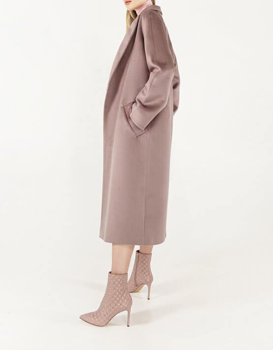 Пальто из кашемира с поясом WNDR_Fw1920_cshdp_11_dark_purple, фото 6 - в интеренет магазине KAPSULA