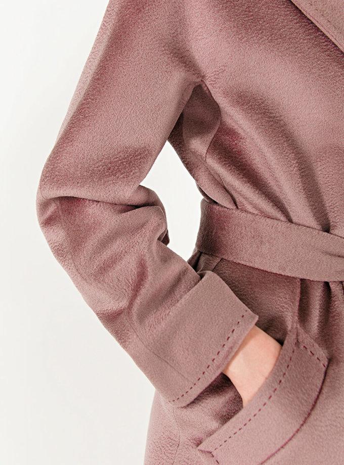 Пальто из кашемира с поясом WNDR_Fw1920_cshdp_11_dark_purple, фото 1 - в интеренет магазине KAPSULA