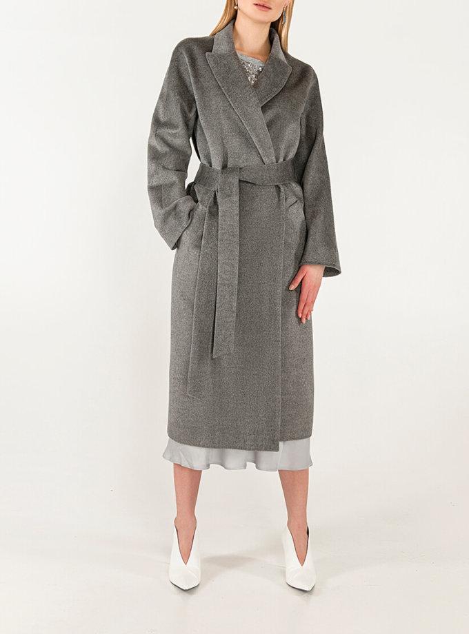 Пальто из кашемира с поясом WNDR_Fw1920_cshgr_11_grey, фото 1 - в интернет магазине KAPSULA
