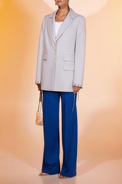 Прямые брюки из шерсти MF-FW2021-38, фото 1 - в интеренет магазине KAPSULA