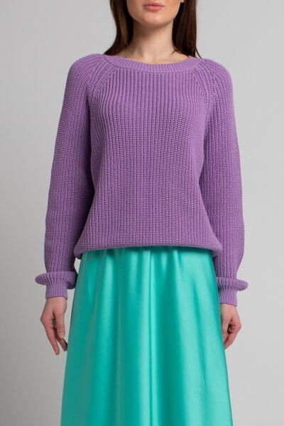 Джемпер из хлопка SVST_ААВ-1-sweater-lavanda, фото 1 - в интеренет магазине KAPSULA