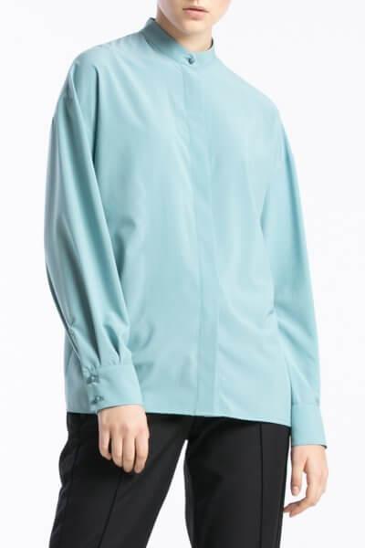 Блуза свободного кроя с планкой ALOT_020178, фото 1 - в интеренет магазине KAPSULA