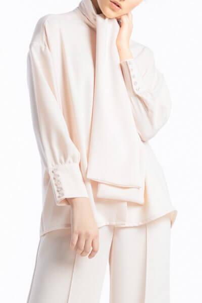 Блузка с воротником-бантом ALOT_020206, фото 1 - в интеренет магазине KAPSULA