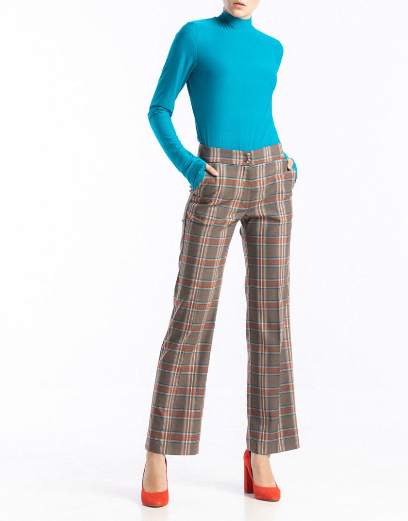 Прямые брюки в клетку ALOT_030119, фото 1 - в интеренет магазине KAPSULA