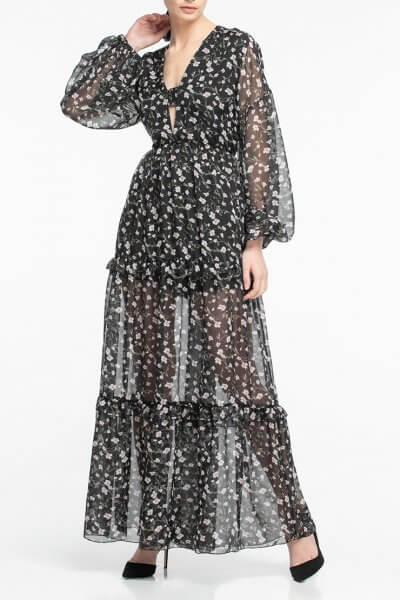 Шифоновое платье макси ALOT_100341, фото 1 - в интеренет магазине KAPSULA