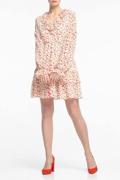 Шифоновое платье мини ALOT_100342, фото 4 - в интеренет магазине KAPSULA
