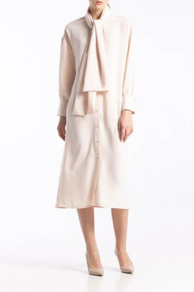 Платье с воротником-бантом ALOT_100395, фото 1 - в интеренет магазине KAPSULA