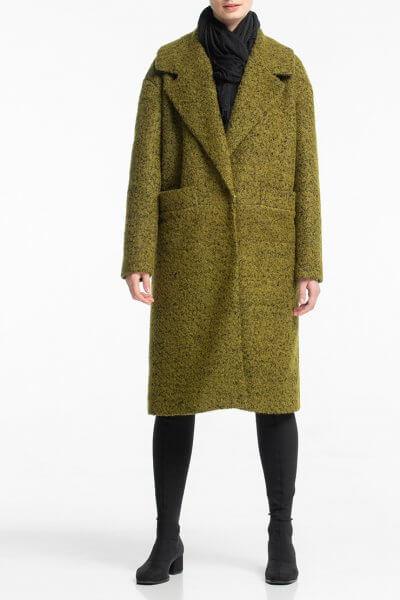 Прямое пальто букле из шерсти ALOT_500183, фото 1 - в интеренет магазине KAPSULA