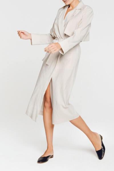 Хлопковый халат-тренч с карманами BLCGR_BLCN520, фото 1 - в интеренет магазине KAPSULA