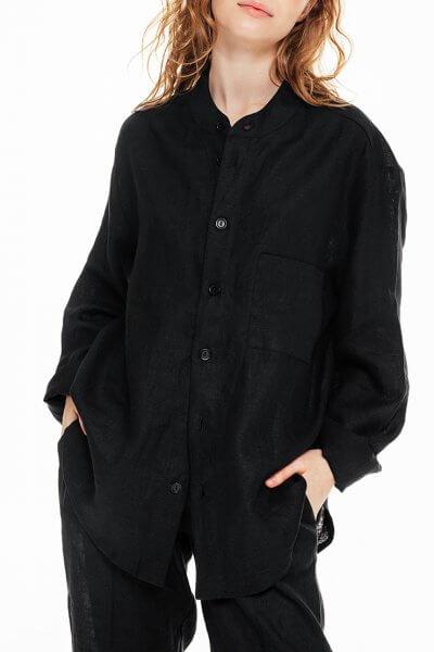 Рубашка oversize на пуговицах BLCGR_BLCN682, фото 1 - в интеренет магазине KAPSULA