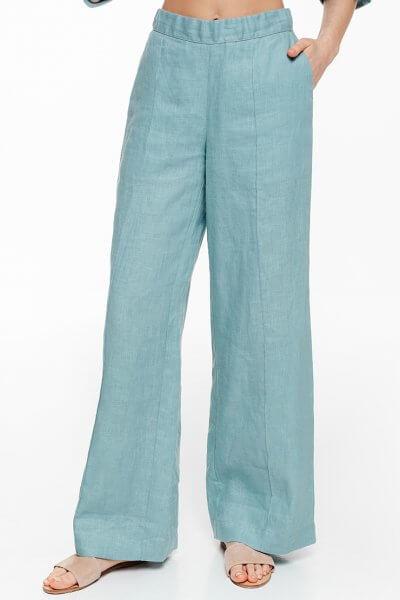 Льняные брюки-клеш BLCGR_BLCN685, фото 1 - в интеренет магазине KAPSULA