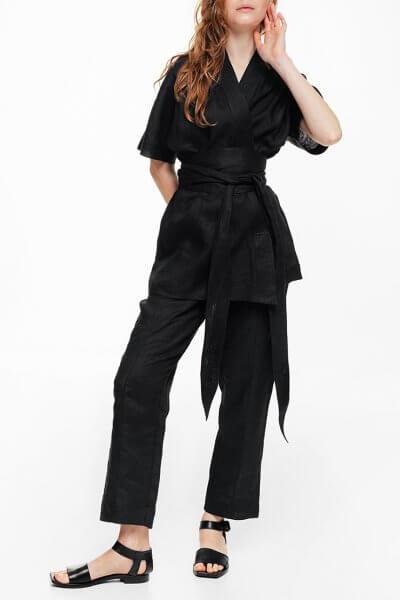 Льняные брюки сo стрелками BLCGR_BLCN691, фото 1 - в интеренет магазине KAPSULA