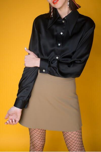 Юбка из шерсти IT_it20be01102, фото 3 - в интеренет магазине KAPSULA