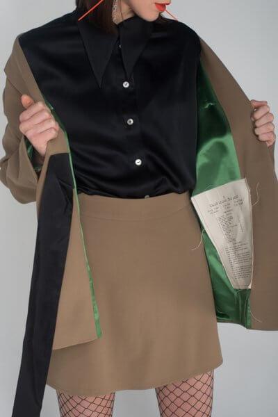 Шелковая блуза oversize IT_it20bl03103, фото 1 - в интеренет магазине KAPSULA