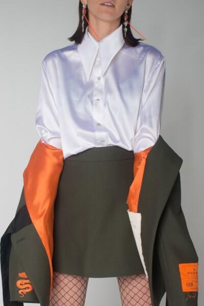 Шелковая блуза oversize IT_it20iv03103, фото 1 - в интеренет магазине KAPSULA
