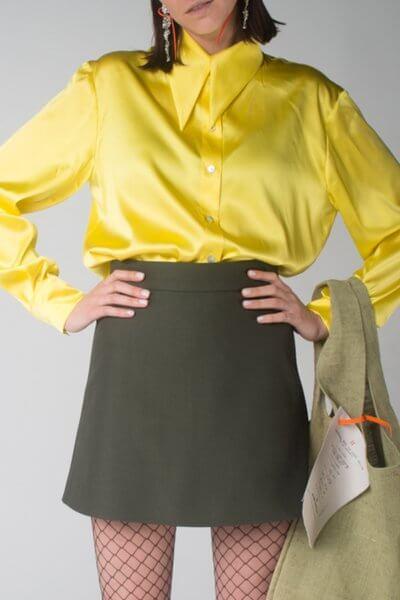 Шелковая блуза oversize IT_it20ye03103, фото 1 - в интеренет магазине KAPSULA