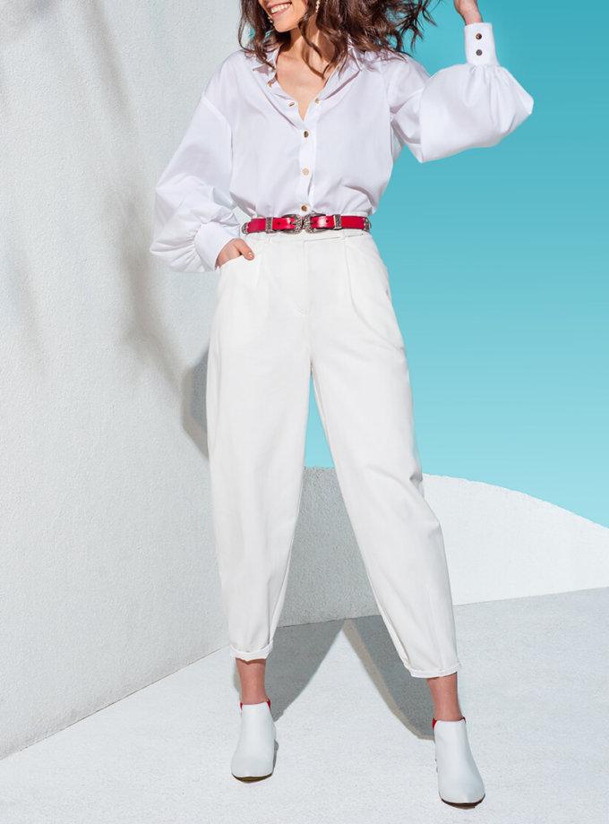 Джинсовые брюки-бананы KS_AND_KS_SS-22-22, фото 1 - в интернет магазине KAPSULA