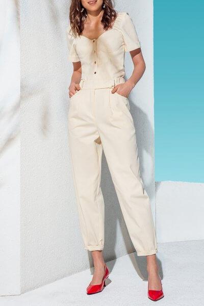 Джинсовые брюки-бананы KS_AND_KS_SS-22-24, фото 1 - в интеренет магазине KAPSULA