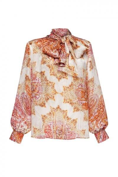 Шелковая блуза с бантом LKC_BLV2001, фото 1 - в интеренет магазине KAPSULA