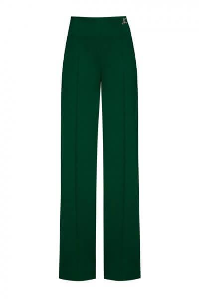 Широкие брюки со стрелками LKC_BRV2001-green, фото 1 - в интеренет магазине KAPSULA