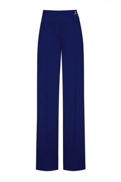 Широкие брюки со стрелками LKC_BRV2001-blue, фото 1 - в интеренет магазине KAPSULA