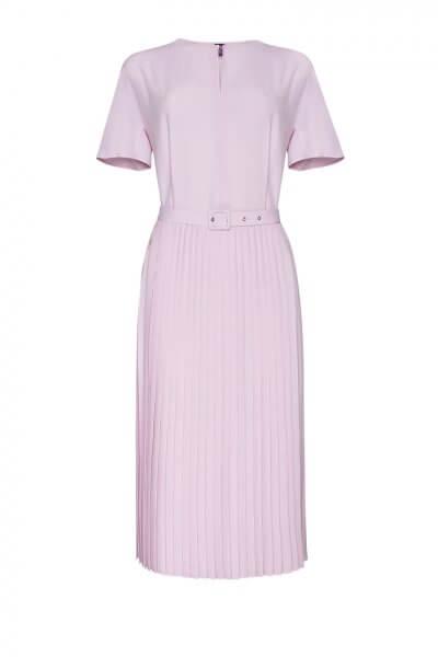 Шелковое платье с плиссе LKC_SUL1902, фото 1 - в интеренет магазине KAPSULA