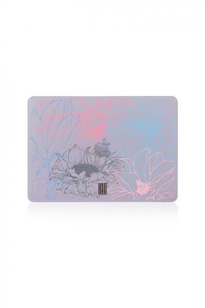 Кейс для MacBook любой модели LSRK_macbook case_graphic flowers, фото 1 - в интеренет магазине KAPSULA