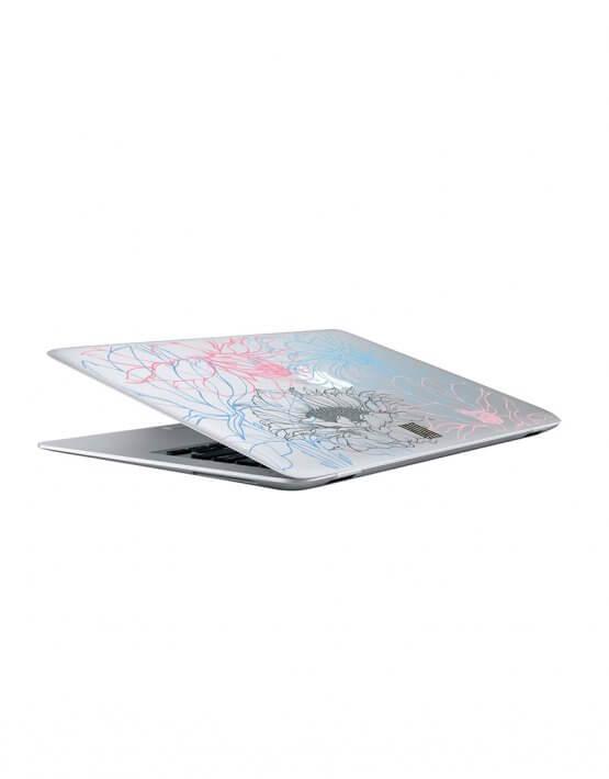 Кейс для MacBook любой модели LSRK_macbook case_graphic flowers, фото 3 - в интеренет магазине KAPSULA