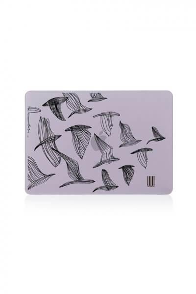 Кейс для MacBook любой модели LSRK_macbook case_monochrome birds, фото 1 - в интеренет магазине KAPSULA