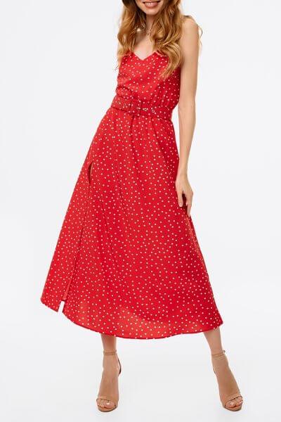 Платье с разрезом и открытой спиной MGN_1716K, фото 1 - в интеренет магазине KAPSULA