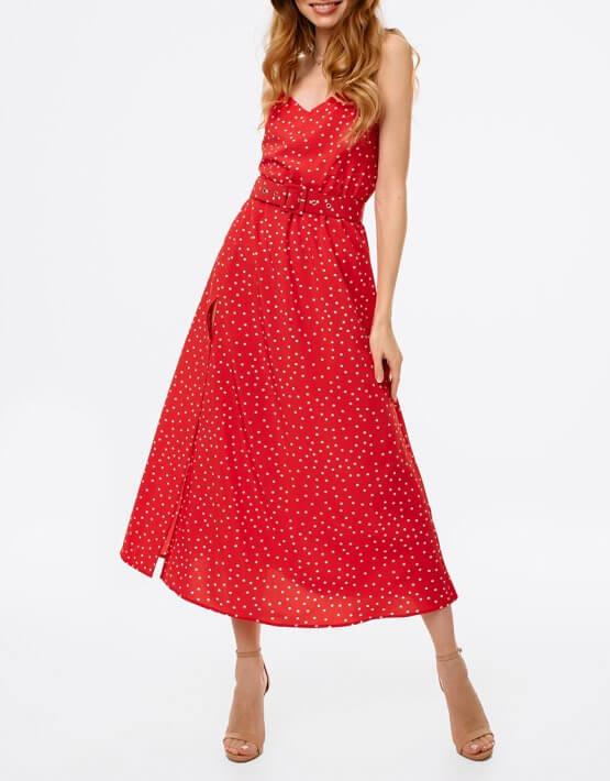 Платье с разрезом и открытой спиной MGN_1716K, фото 6 - в интеренет магазине KAPSULA
