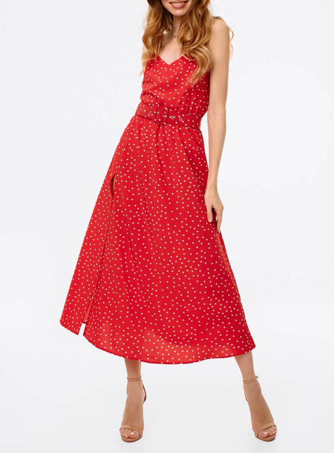 Платье с разрезом и открытой спиной MGN_1716K, фото 1 - в интернет магазине KAPSULA