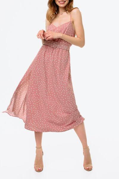 Платье с разрезом и открытой спиной MGN_1716P, фото 1 - в интеренет магазине KAPSULA