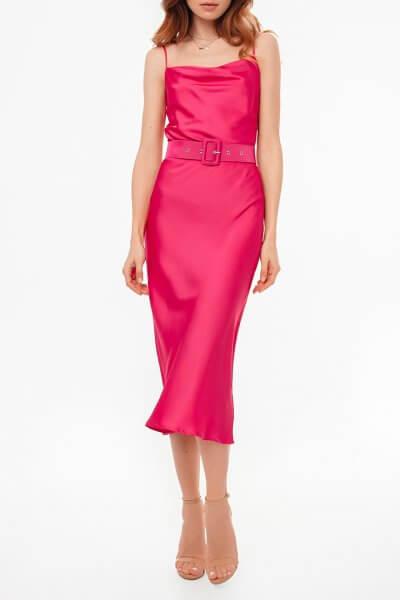 Платье на тонких бретелях с поясом MGN_1719М, фото 1 - в интеренет магазине KAPSULA