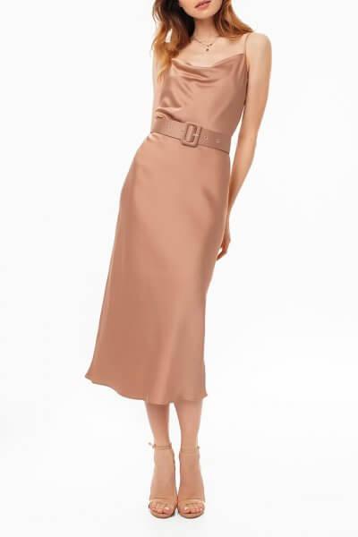 Платье на тонких бретелях с поясом MGN_1719N, фото 1 - в интеренет магазине KAPSULA